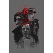 Star Wars Gwiezdne Wojny III Generacja - plakat premium