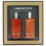 LAGERFELD by Karl Lagerfeld Gift Set -- 2 oz Eau De Toilette Spray + 2 oz After Shave