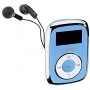 MP3 reproduktor Intenso Music Mover 8 GB, plave boje, pričvrsna kopča