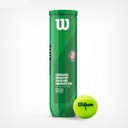 Set mingi tenis Roland Garros Starter Green Incepatori, 4 mingi/cutie