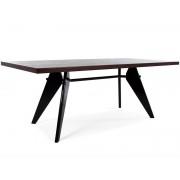 Famous Design Table Prouvé large et 6 chaises