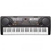 Orga electronica 61 de clape MQ-809 cu microfon si citire USB MP3
