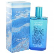 Davidoff Cool Water Coral Reef Eau De Toilette Spray (Limited Edition) 4.2 oz / 124.2 mL Men's Fragrance 514276