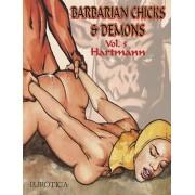 Barbarian Chicks & Demons, Paperback