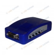 VGA Converter VIDEO to VGA Convertitore da Segnale VIDEO RCA a MONITOR VGA