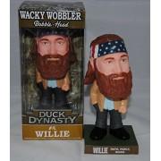 Duck Dynasty Willie Bobble-Head Faith, Family, Ducks