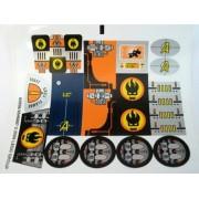 """Lego Original Sticker for Agents Set #8970 """"Robo Attack"""""""