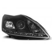 Přední světla, lampy Ford Focus 08-10 Day light černá H7
