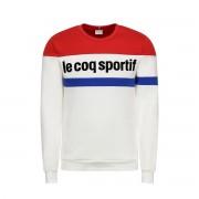 LE COQ SPORTIF Sweater Tricolore N°1 mit Rundhalsausschnitt