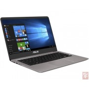 "ASUS ZenBook UX410UA-GV097T, 14"" FullHD LED (1920x1080), Intel Core i3-7100U 2.4GHz, 4GB, 256GB SSD, Intel HD Graphics, Win 10, silver"