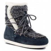 Апрески MOON BOOT - Mb Far Side High Faux Fur 24201000001 Navy Blue