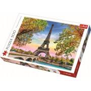 PUZZLE TREFL 500 ROMANTICUL PARIS