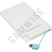 Baterie externa Mediacom SOS Power Bank 2500 mAh White