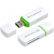 Transcend Compact Card Reader P5 (White)