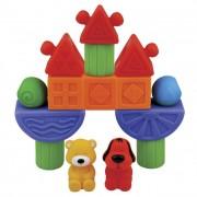 Ks Kids Vidámpark bébi építőkocka készlet