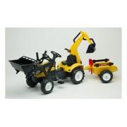 Falk Traktor na pedale sa 2 kašike (2055cn)