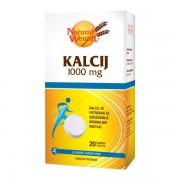 Natural Wealth Kalcij 1000 mg šumeće tablete