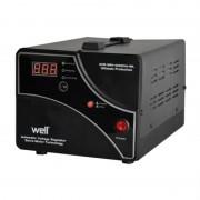 Stabilizator de tensiune cu servomotor Well, 1000 VA