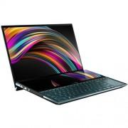 "ASUS Zenbook Pro Duo UX581GV-H2002R Intel i7-9750H 15.6"" UHD Touch GTX2060/6GB 16GB 1TB SSD WL BT Cam W10PRO modrý"