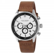 Dane Dapper Montre Troika marron & argent