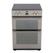 Stoves STERLING 600MFTi Stainless Steel Induction Electric Cooker with Double Oven