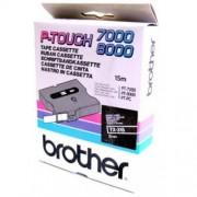 Banda continua laminata Brother TX315, 6mm, 15m