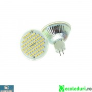 Bec spot MR16 Led x 48 12V