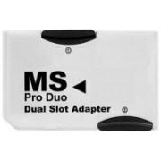 YTM Dual 2 Slot Memory Stick MS Card Pro Duo Reader Adapter for PSP Card Reader 128 GB Memory Stick Pro Duo Card Class 10 40 MB/s Memory Card
