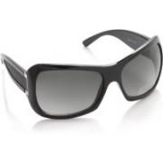 Swiss Design Over-sized Sunglasses(Grey)