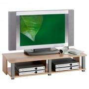 IDIMEX Meuble TV GERO, 2 niches, décor chêne sonoma