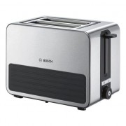 Prajitor de paine Bosch TAT 7S25, 1050w, 2 felii de paine, Inox/Negru