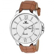 Armado Analogue White Dial Mens Watch - Ar-042-Wht