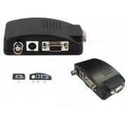 BNC to VGA Converter or Svideo to VGA Converter (Connect CCTV to VGA Monitor)