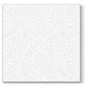 Lunchservet 33x33 pakje 20 st. Inspiration Classic white