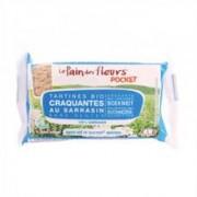 Tartine Crocante Bio Fara Gluten cu Hrisca fara Sare Le Pain Des Fleurs 18,5gr