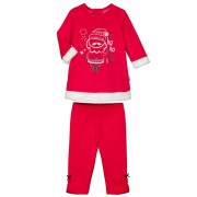 Petit Béguin Pyjama bébé 2 pièces Robe + Legging Ho Ho - Taille - 9 mois
