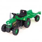 Tractor cu remorca prevazut cu claxon, 52 x 173 x 45 cm, maxim 35 kg