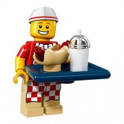 Lego Série 17 Mini-Figurine - Vendeur De Hot-Dog