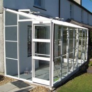 Elite Greenhouses Kensington Lean-to 6 x 6 Greenhouse