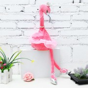 Flamingo Singing Dancing Pet Bird 50cm 20Inches Christmas Gift Stuffed Plush Toy Cute Doll