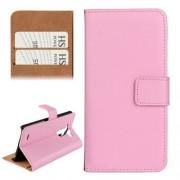 LG Optimus G3 - Flip hoes, cover, case - PU leder - PC - roze