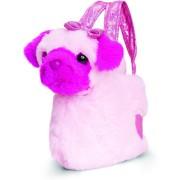 Catelus roz de plus in gentuta Glitter Gems 20 cm Keel Toys