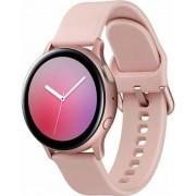 "Smartwatch Samsung Galaxy Watch Active 2 SM-R820, Procesor Dual-Core 1.15GHz, Super AMOLED 1.4"", 768MB RAM, 4GB Flash, Bluetooth, Wi-Fi, Carcasa Aluminiu, Bratara Cauciuc 44mm, Rezistent la apa si praf, Tizen (Auriu/Roz)"