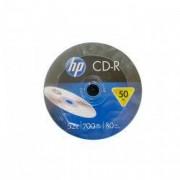 CD-R HP 700 MB 52x 50 bucati/bulk in folie