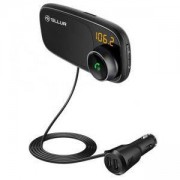 FM трансмитер за кола Tellur B6, Bluetooth 4.2, LED дисплей, TLL171082