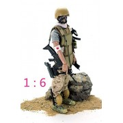 """7Buy 12"""" Wounded Soldier Action Figures Soldiers Toys 1:6 Scale for Children PlaySets"""