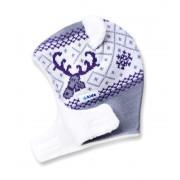 copii tricotat kukla-capac Kama B16 109 gri