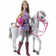 Papusa Barbie Cu Calut BRB Horse And Doll Mattel