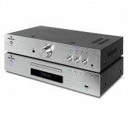 "Electronic Star auna ""Elegance Tower"" 2.0 HiFi Set CD-Player USB 600W Stereo-Cinch Digital-Out"