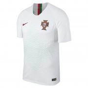 2018 Portugal Vapor Match Away Herren-Fußballtrikot - Weiß